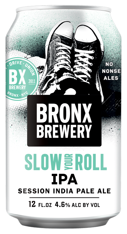 <h3>Slow Your Roll</h3><span style='color: #6BC6AF;'>Session IPA</span>
