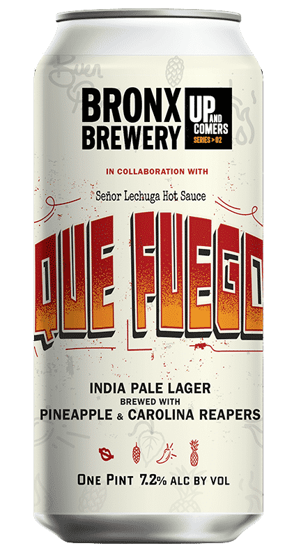Que Fuego IPL with Pineapple & Carolina Reapers - 7.2% ALC