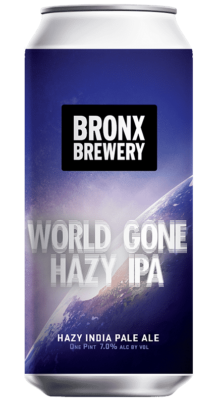 World Gone Hazy IPA - 7.0% ALC