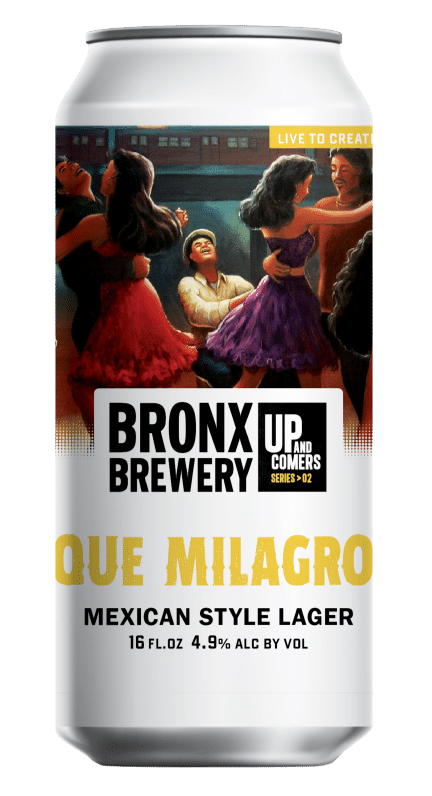 <h3>Que Milagro</h3><span style='color: #e2bf3f;'>Mexican Lager</span>