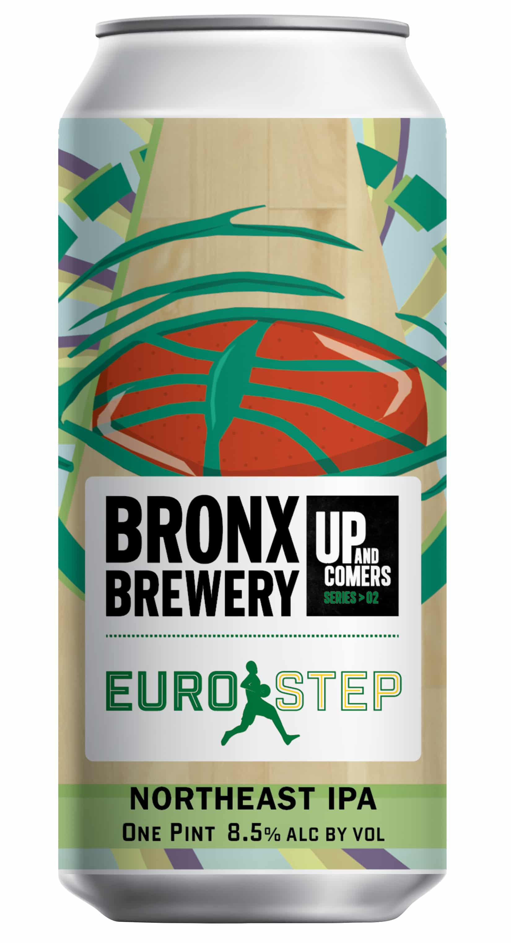 <h3>Euro Step</h3><span style='color: #e7775b;'>German-Hop IPA</span>