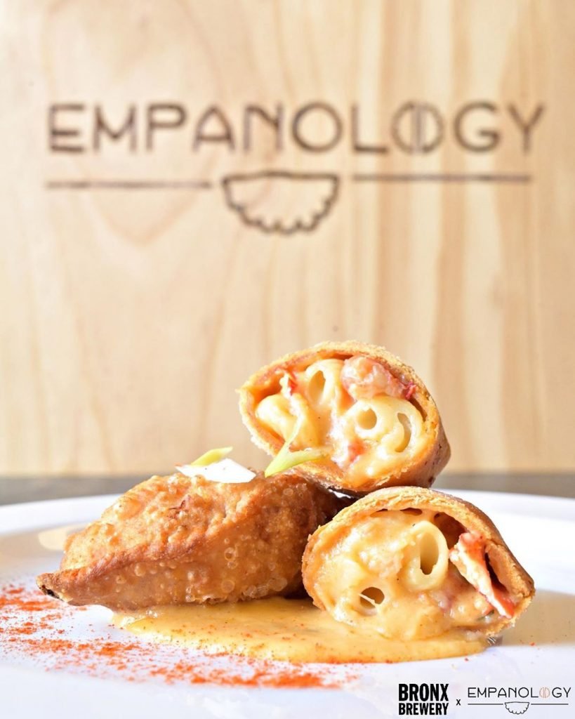 BREAKING FOOD ALERT: Starting Friday, @empanology will pop-up at the Brewery 4x a week!From now til mid-January, BX culinary rising star Jason Alicea & his team will make our house their kitchen, serving up the kind of flavor bombs -- wrapped in 'little pockets of love' -- that's made them famous around here.Stay tuned for more. Don't know Empanology? Hit our Highlights to see Jason dazzle Sweden with chop cheese...and don't forget to stop by this weekend
