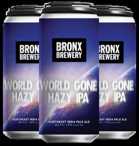 <h3>World Gone Hazy</h3><span style='color: #e7775b;'>Hazy IPA</span>