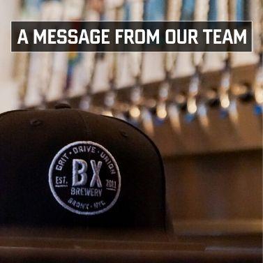 Bronx Brewery Taproom & Backyard To Close Through Mar. 29