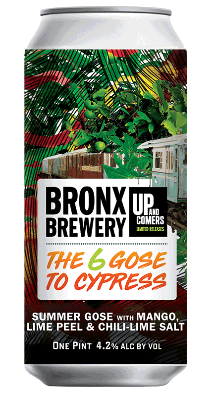 <h3>The 6 Gose To Cypress</h3><span style='color: #2aa14a;'>Gose with Mango, Lime and Chili-Lime Salt</span>