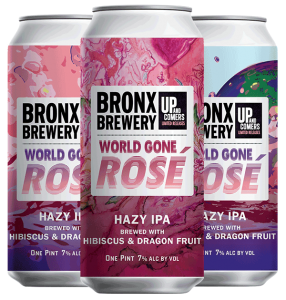 <h3>World Gone Rosé</h3><span style='color: #f88f3b;'>Rosé Hazy IPA</span>