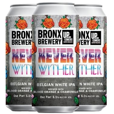 Introducing ... Never Wither Belgian IPA with Blood Orange & Chamomile