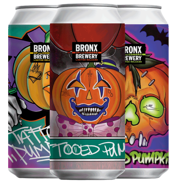 Tattooed Pumpkin Special Edition Mixed 4-Pack