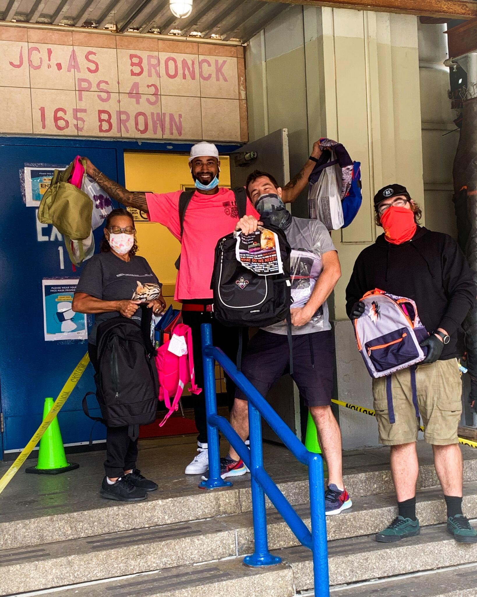 Beer Kulture 'Kulture 4 Da Kids' Drive Sends 25+ Backpacks To PS43