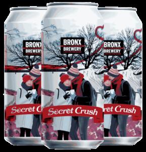 <h3>Secret Crush</h3><span style='color: #e7775b;'>Belgian Pale Ale with Vanilla & Cardamom</span>